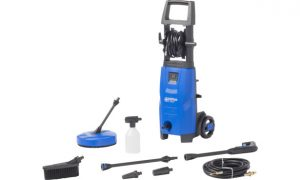 Nilfisk pressure washer with all attachments